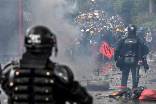 Colombia: fotoperiodistas denuncian atropellos y ataques permanentes durante la cobertura del Paro Nacional