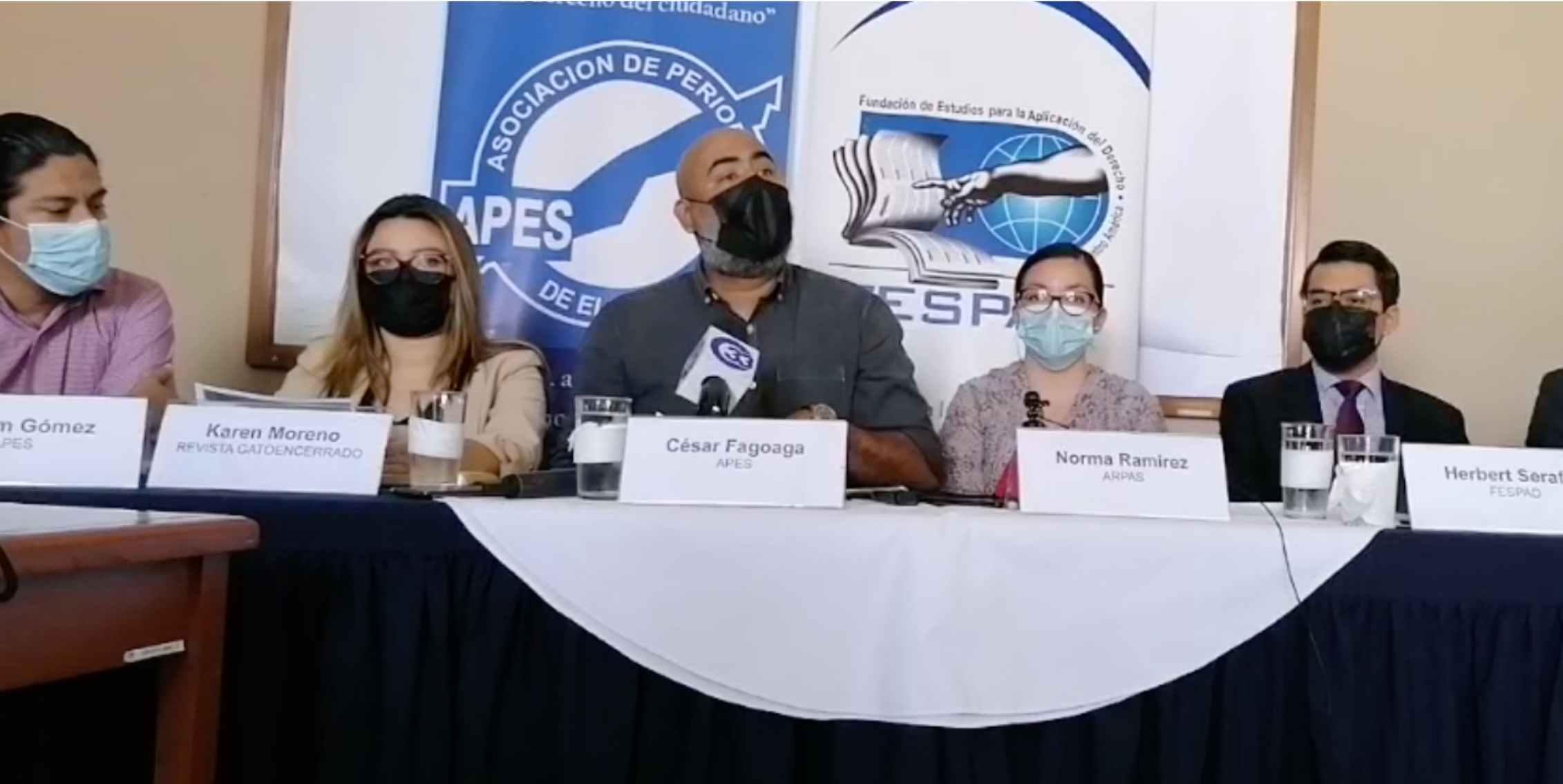 El Salvador: En pocos días se registraron varias agresiones a periodistas por parte de funcionarios de gobierno