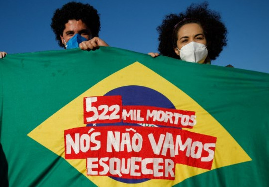 Brasil: 278 periodistas murieron a causa del COVID-19 desde que comenzó la pandemia