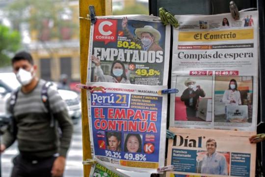 Perú: fuerzan la renuncia de periodistas que habían denunciado presiones durante la cobertura electoral