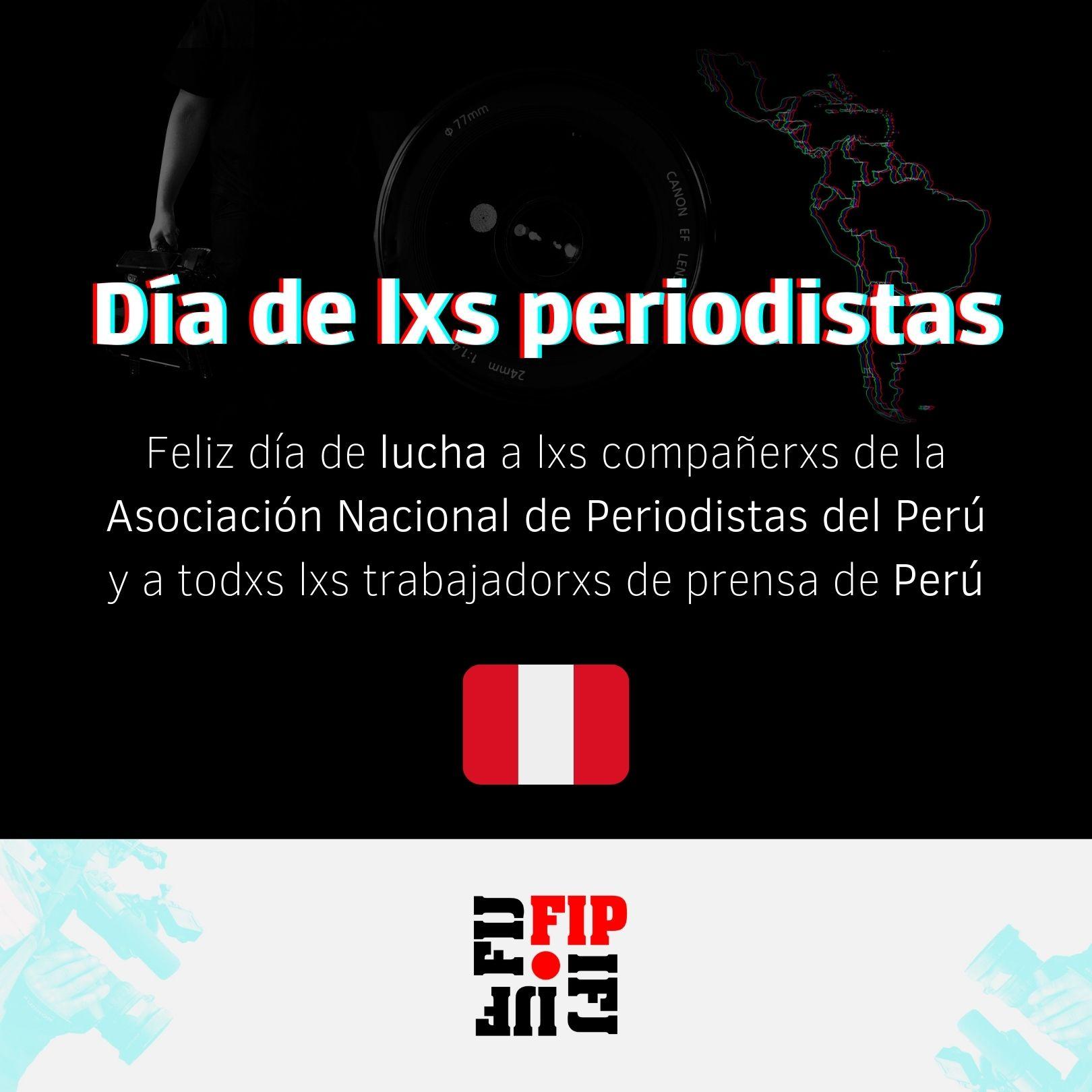 Perú: Día de lxs periodistas