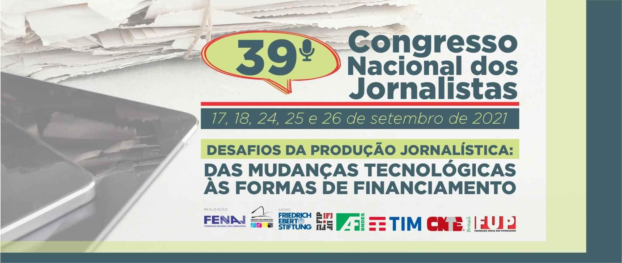 Brasil: hoy comienza el 39º Congreso Nacional de Periodistas